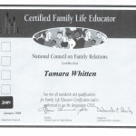 CFLE Certificate
